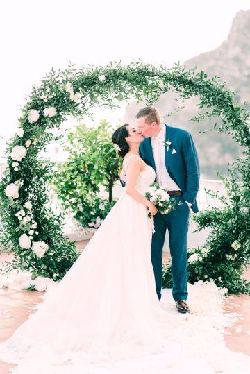 Dramatic Breathtaking Positano Destination Wedding – Lace and Luce Photography 25
