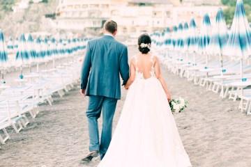 Dramatic Breathtaking Positano Destination Wedding – Lace and Luce Photography 3