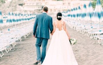 Dramatic Breathtaking Positano Destination Wedding