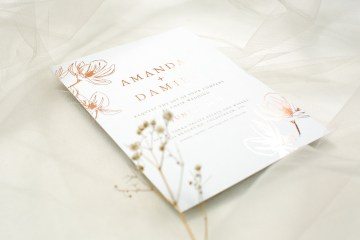Gorgeous Custom Wedding Invitations By Paperlust 16