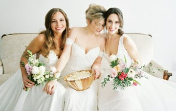 The One With All The Wedding Dresses; Friends Bridal Inspiration
