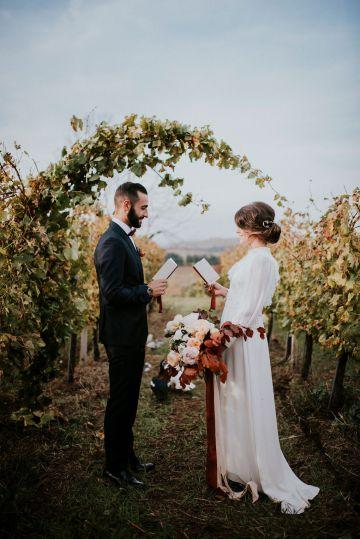 Romantic Vintage Italian Winery Wedding Inspiration – Giulia Santarelli 24