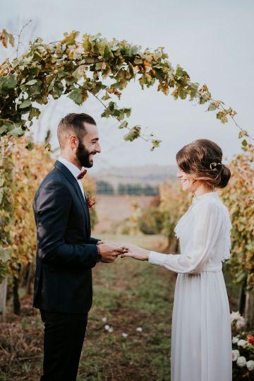 Romantic Vintage Italian Winery Wedding Inspiration – Giulia Santarelli 26
