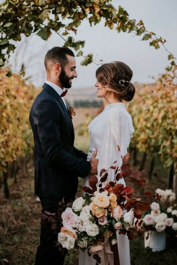 Romantic Vintage Italian Winery Wedding Inspiration – Giulia Santarelli 30