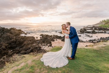 Tropical Maui Lava Field Wedding – Marlayna Photography 14