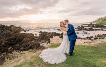 Tropical Maui Luau Wedding