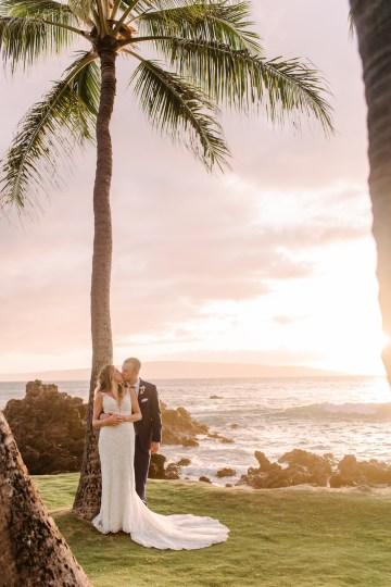Tropical Maui Lava Field Wedding – Marlayna Photography 54