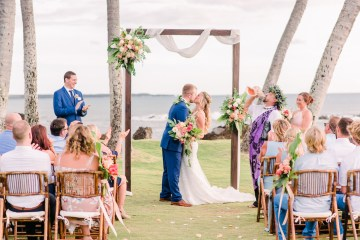 Tropical Maui Lava Field Wedding – Marlayna Photography 8