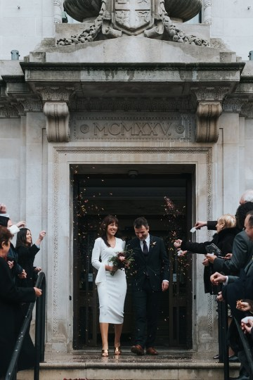 City Chic London Town Hall Winter Wedding – Miss Gen Photography 25