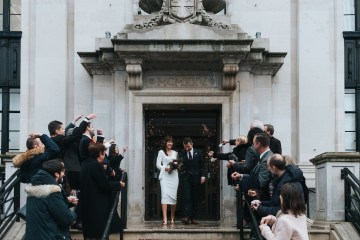 City Chic London Town Hall Winter Wedding – Miss Gen Photography 9