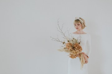 Dried Florals and Modern Minimalistic Wedding Inspiration – Maja Tsolo Photography 1