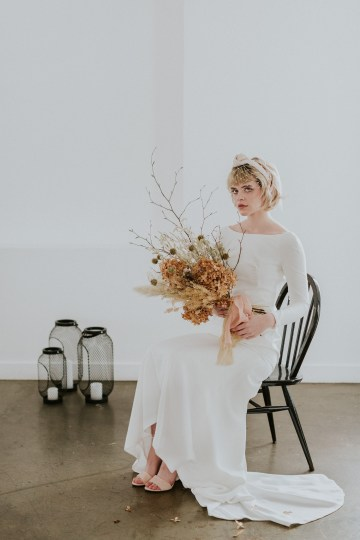 Dried Florals and Modern Minimalistic Wedding Inspiration – Maja Tsolo Photography 13