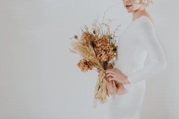 Dried Florals and Modern Minimalistic Wedding Inspiration – Maja Tsolo Photography 7