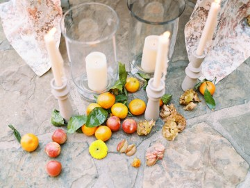 Persimmon and Pomegranate – Warm Rustic Wedding Ideas – Aiza Photography 1