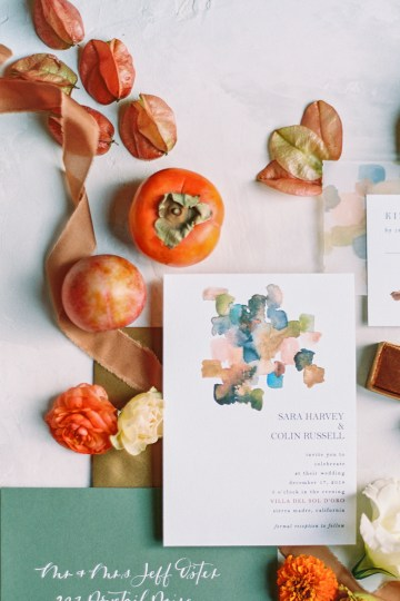 Persimmon and Pomegranate – Warm Rustic Wedding Ideas – Aiza Photography 30