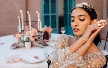 Sparkling Dusty Rose Marrakech Wedding Inspiration