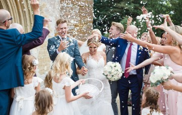 Adorable Animal-Themed Wedding At A 12th Century Estate