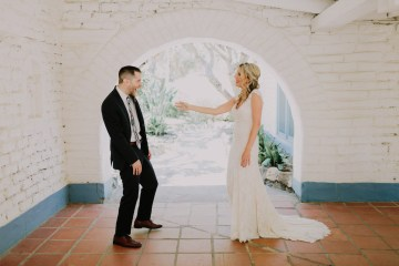 Colorful Boho Palm Springs Jewish Wedding – Lets Frolic Together 2
