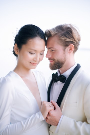Modern Fashion-Forward Black White and Pink Greek Wedding Inspiration – Panos Demiropoulos 40