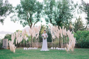Modern Fashion-Forward Black White and Pink Greek Wedding Inspiration – Panos Demiropoulos 52