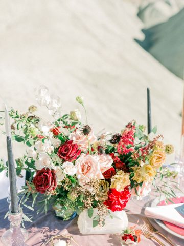 Rainbow Basin Desert Wedding Inspiration with Moon Stationery – Victoria Masai Photography 23