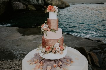 Rose Gold and Copper Cinque Terre Fall Wedding Inspiration – Di Luce e d Ombra – Greta Betton Wedding Planner 2