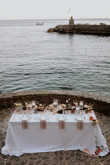 Rose Gold and Copper Cinque Terre Fall Wedding Inspiration – Di Luce e d Ombra – Greta Betton Wedding Planner 24