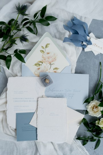 Something Blue Wedding Dessert and Cake Inspiration – Cipriano Palmer Photography 13