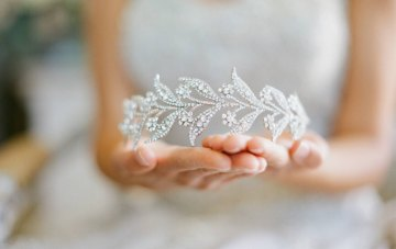 15 Beautiful & Unique Bridal Crowns & Tiaras