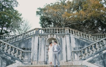 Berries & Citrus; Colorful Botanical Garden Wedding Inspiration