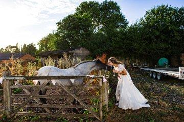Charming English Wildflower Wedding At The Family Farm – Jonny Barratt Wedding Photography 14