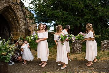 Charming English Wildflower Wedding At The Family Farm – Jonny Barratt Wedding Photography 3