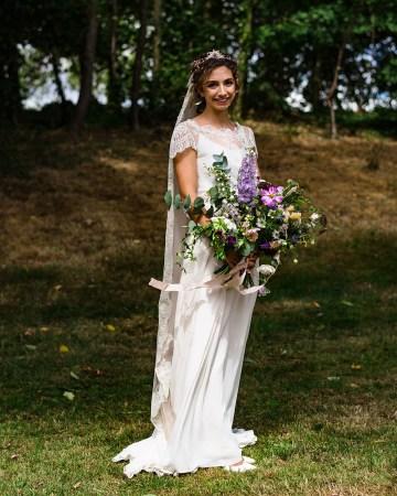 Charming English Wildflower Wedding At The Family Farm – Jonny Barratt Wedding Photography 50