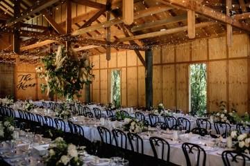 Chic Australian Garden Wedding with A Sparkling Wedding Dress – David Campbell Imagery 1