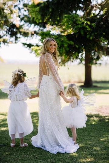 Chic Australian Garden Wedding with A Sparkling Wedding Dress – David Campbell Imagery 17