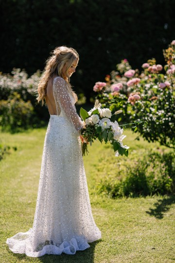 Chic Australian Garden Wedding with A Sparkling Wedding Dress – David Campbell Imagery 19