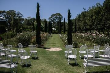 Chic Australian Garden Wedding with A Sparkling Wedding Dress – David Campbell Imagery 2