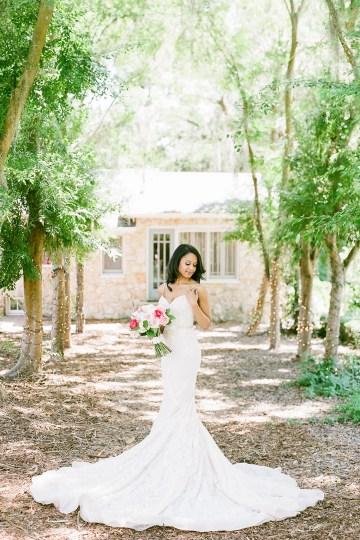 Elegant Blush Southern Plantation Wedding – Molliner Photography 17