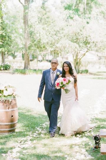 Elegant Blush Southern Plantation Wedding – Molliner Photography 23