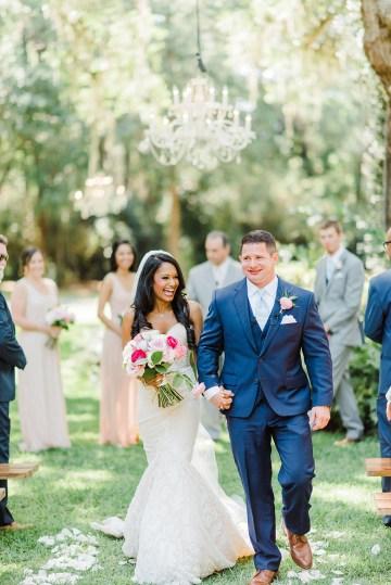 Elegant Blush Southern Plantation Wedding – Molliner Photography 24
