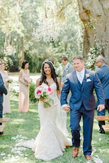 Elegant Blush Southern Plantation Wedding – Molliner Photography 25