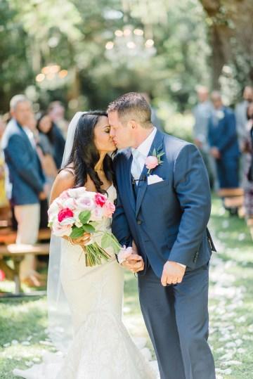 Elegant Blush Southern Plantation Wedding – Molliner Photography 26