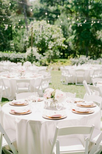Elegant Blush Southern Plantation Wedding – Molliner Photography 38