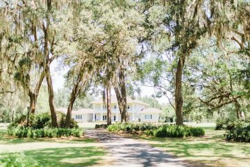 Elegant Blush Southern Plantation Wedding – Molliner Photography 48