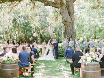 Elegant Blush Southern Plantation Wedding – Molliner Photography 49