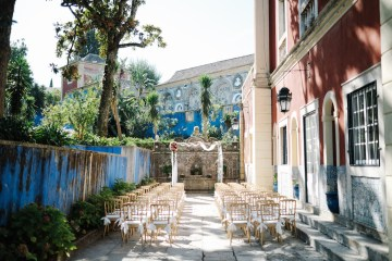 Historical Blue-tiled Palace Destination Wedding in Portugal – Jesus Caballero Photography 31