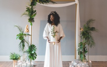 Studio 54 Disco-Themed Wedding Inspiration