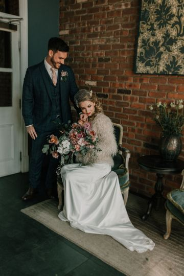 Vintage Glamour Wedding Inspiration in Manchester – Gail Secker Photography 12