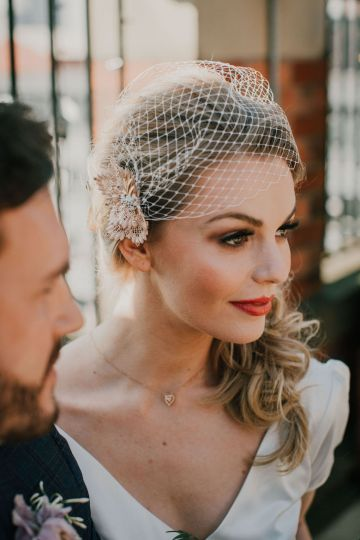 Vintage Glamour Wedding Inspiration in Manchester – Gail Secker Photography 18