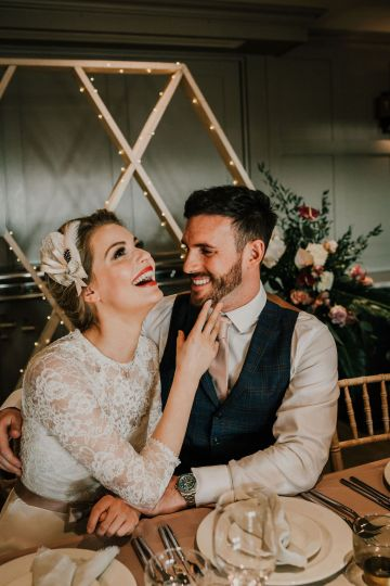 Vintage Glamour Wedding Inspiration in Manchester – Gail Secker Photography 54